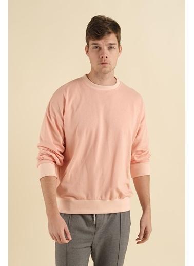 Oksit Sweatshirt Pembe